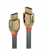 Lindy 37860 Cavo HDMI High Speed Gold Line, 0.5m
