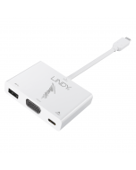 Lindy 43230 Converter USB 3.1 a VGA, USB Tipo A & Power Delivery